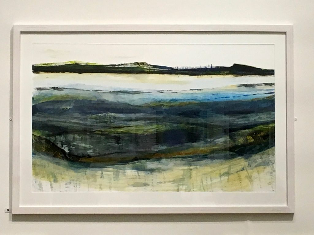 Ruth Thomas at the RSW 138th Open Annual Exhibition 2018